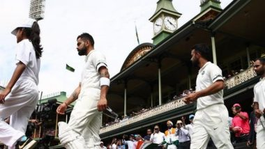 Virat Kohli led Team India Wore Black Band Playing Against Australia in 4th Test at SCG to Pay Tribute to Ramakant Achrekar Sir