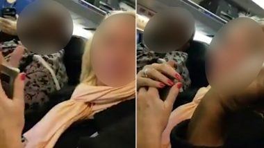 'Two Big Pigs!' Woman's Fat Shaming Comments for Co-Passengers Get Her Kicked off United Airlines (Watch Video)