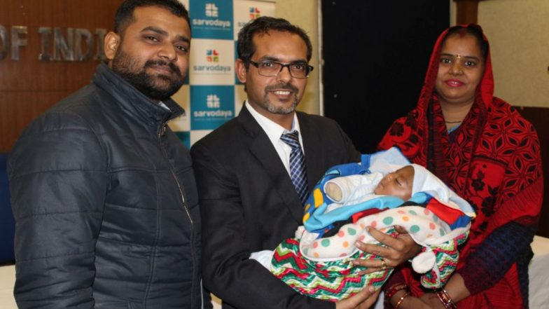 First Time in India a 20-Day-Old Baby Weighing Just 1.160 Kg Undergoes Brain Surgery