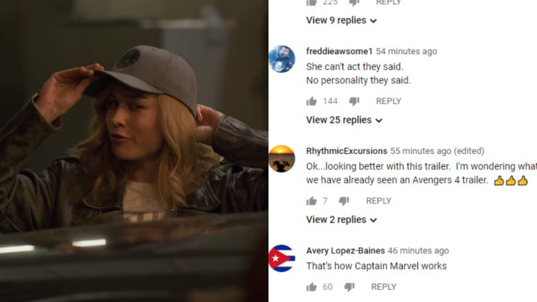 Captain Marvel New Footage Shuts Up Haters; Fans Says This Should Have Been the Trailer