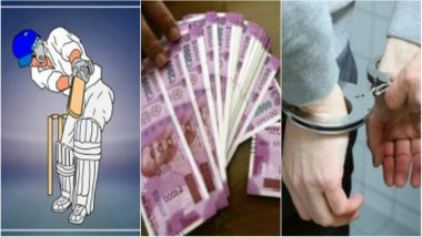 ICC Cricket World Cup 2019: Four Arrested for Cricket Betting in South Africa vs New Zealand Match in Thane, Maharashtra