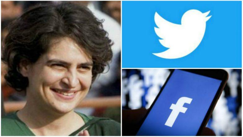 Lok Sabha Elections 2019: Congress Leader Priyanka Gandhi to Login Into Facebook, Twitter Accounts Soon