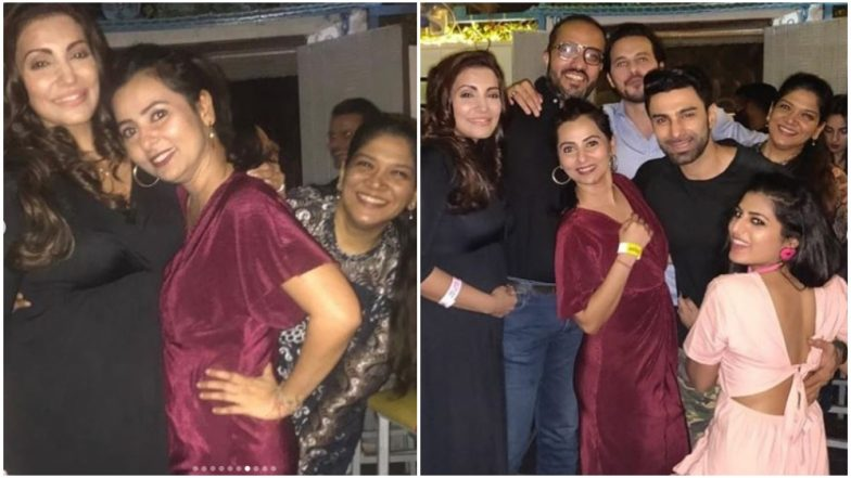 Ishqbaaz Fame Navina Bole Flaunts Her Baby Bump in Style in These Latest Pictures From New Year's Bash