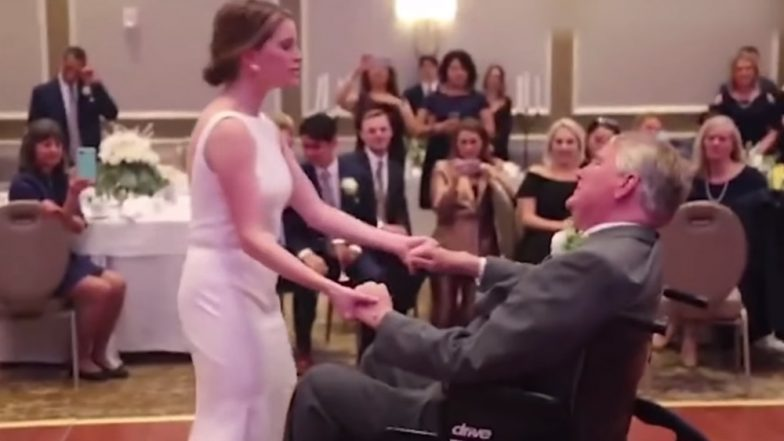 Bride Dances With Her Dying Father on Her Wedding Day, The Viral Video Will Make You Cry