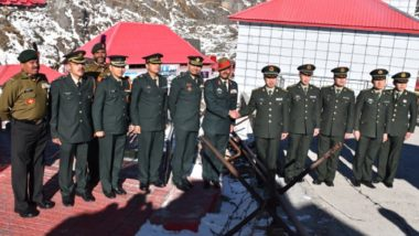 New Year 2019: Indian, Chinese Armies Meet at Nathu La to Exchange Pleasantries