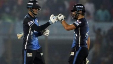 BPL 2019 Live Streaming, DD vs RR: Get Live Cricket Score, Watch Free Telecast of Dhaka Dynamites vs Rangpur Riders on Gazi TV & Online