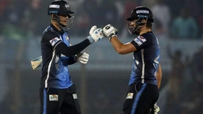 BPL 2019 Live Streaming, DD vs RR: Get Live Cricket Score, Watch Free Telecast of Dhaka Dynamites vs Rangpur Riders on Gazi TV & Online