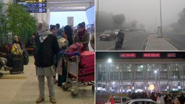 Delhi Enveloped in Dense Fog, Trains, Flights Delayed Due to Poor Visibility