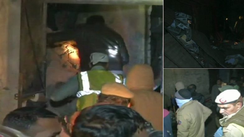 Delhi: 6 Killed as Explosion in Moti Nagar Factory Leads to Partial Building Collapse