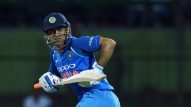MS Dhoni Could Join Elite List of Players Like Sachin Tendulkar, Virat Kohli During Ind vs Aus, 3rd ODI 2019