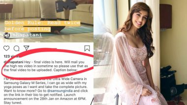 Disha Patani Makes Another Hilarious Mistake on Instagram and Its Time for Her to Up Her Social Media Game