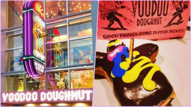 Universal Studios in Orlando Serves Bacon-Flavoured Doughnuts! Brad Pitt & Millie Bobby Brown Are Voodoo Doughnut's Fan