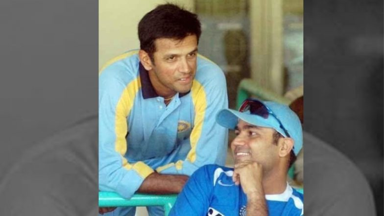 Rahul Dravid Birthday: Virender Sehwag and Others Line Up on Twitter to Wish 'The Wall' on His 46th Birthday