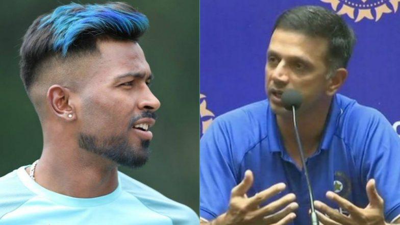 Rahul Dravid Reacts on Hardik Pandya, KL Rahul KWK 6 Controversy; Says 'Let's Not Overreact Please'