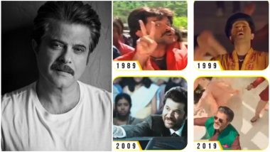 #10YearChallenge: Anil Kapoor Adds His Own Twist to the Challenge; Introduces a New #AKChallenge – Watch Video