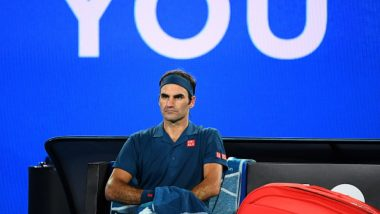Roger Federer Struggles to Keep Water Bottles Intact During US Open 2019 Match Against Sumit Nagal; Netizens Ask Rafael Nadal to Rescue him (Watch Video)