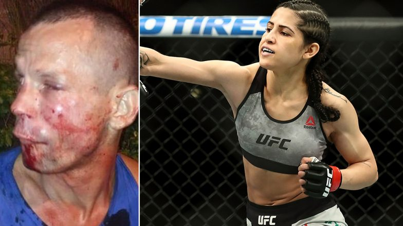 UFC Fighter Polyana Viana Bloodies Man's Face After He Tries to Rob Her Phone in Brazil