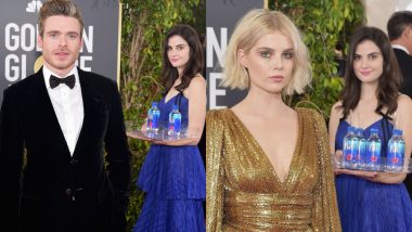 Golden Globe Awards 2019: Meme-Thirsty Internet Gets Served Water by a Mysterious Girl at the Red Carpet