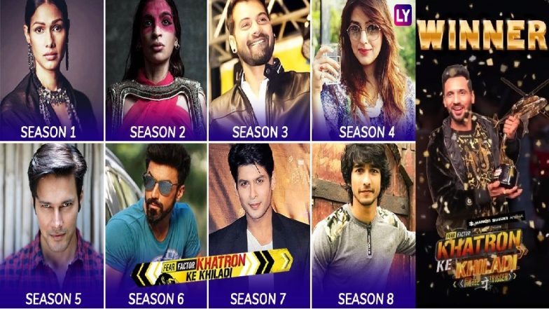 Khatron Ke Khiladi 9: Punit J Pathak Lifts The Trophy! Take A Look At Fear Factor's Past Winners!
