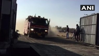 Madhya Pradesh: Fire Breaks Out at Tyre Factory in Mandsaur, No Causalities Reported