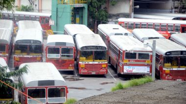 BEST Bus Strike Enters Fourth Day, No Relief For Commuters as Red Buses Remain Off Roads