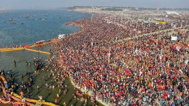 Kumbh Mela 2019 Sets New Record, 2.25 Crore Devotees Attend First 'Shahi Snan' in Prayagraj