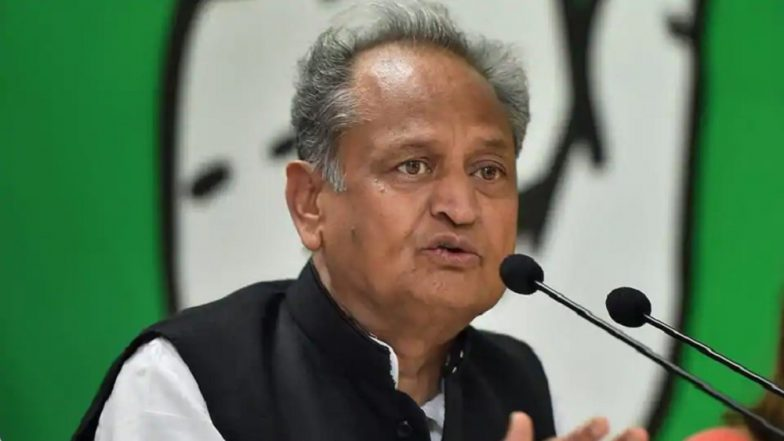 Gujjar Agitation in Rajasthan: Demands Can Be Met Only After Amendments in Constitution, Says CM Ashok Gehlot