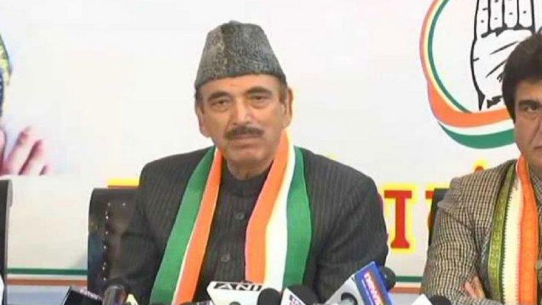 On SP-BSP Snub, Ghulam Nabi Azad Says 'Media Created Mahagathbandhan, Congress Never Talked About It'