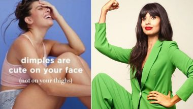 Jameela Jamil Schooled the Beauty Brand Avon for Their New Marketing Campaign Promoting 'dimples Are Cute on Your Face Not on Your Thighs'