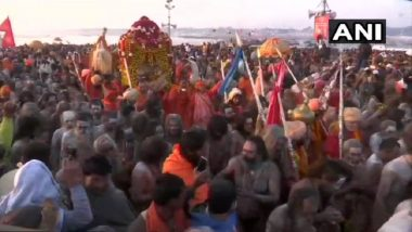 Kumbh Mela 2019: 1.4 Crore People Take Dip As World's Biggest Congregation Begins and a Centuries Old Ritual Continues