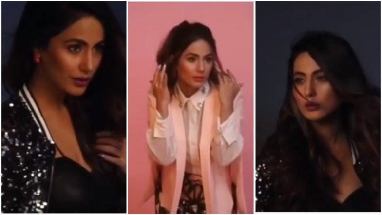 Kasautii Zindagii Kay 2 Actress Hina Khan Stuns in Her Latest Photoshoot – Watch Behind-the-Scene Video