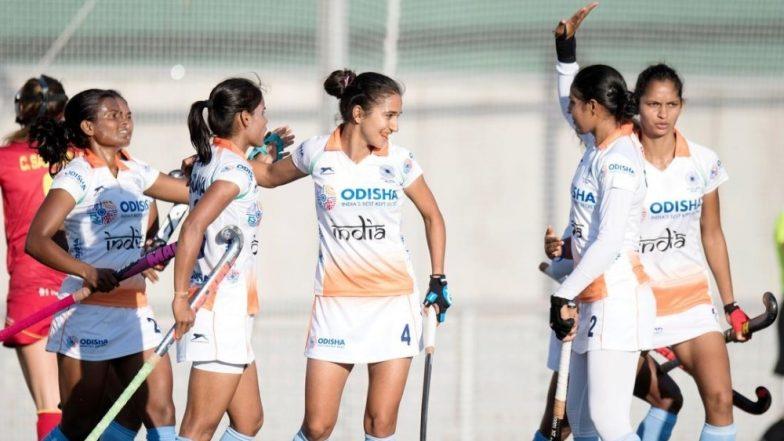 Indian Women's Hockey Team Held 2-2 by Spain