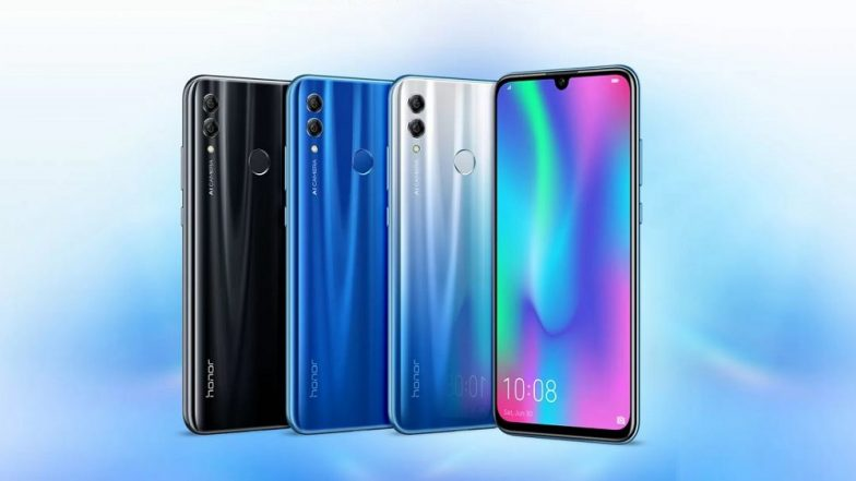 Honor 10 Lite Smartphone With 24MP Selfie Camera Launched; Priced in India From Rs 13,999