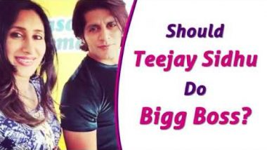 Here's What Karanvir Bohra Said On Wife Teejay Sidhu Doing Bigg Boss  Bigg Boss 12