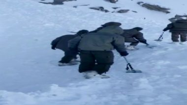 Avalanche Hits Khardung La in Ladakh, 4 Bodies Recovered From Under The Snow, Search On For More People Trapped