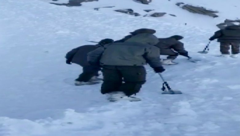 Avalanche Hits Khardung La in Ladakh, 5 Bodies Recovered From Under The Snow, Search On For More People Trapped