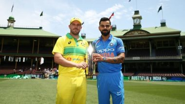India vs Australia 1st ODI 2019 Highlights: AUS Win by 34 Runs, IND 254/9 in 49 Overs (Target 289)
