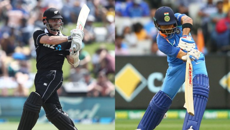 India vs New Zealand 2019 Schedule: Squads, Match Timings in IST, Live Streaming and Telecast Details of IND vs NZ Series