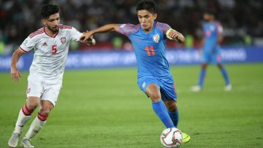 India vs Bahrain, AFC Asian Cup 2019 Live Streaming Online: How to Get Asia Cup Match Live Telecast on TV & Free Football Score Updates in Indian Time?