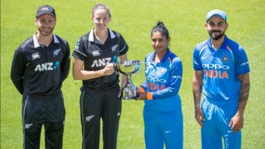 India vs New Zealand 2019 Women's Matches Full Schedule in IST Free PDF Download Online: IND vs NZ Timetable With Match Dates, Fixture Timings and Venue Details