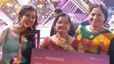 Sa Re Ga Ma Pa 2019 Winner: Jabalpur's 16-Year-Old Ishita Vishwakarma Takes Home the Trophy