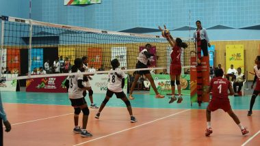 Khelo India Youth Games 2019: Tamil Nadu, West Bengal Girls on Top in Volleyball Competition