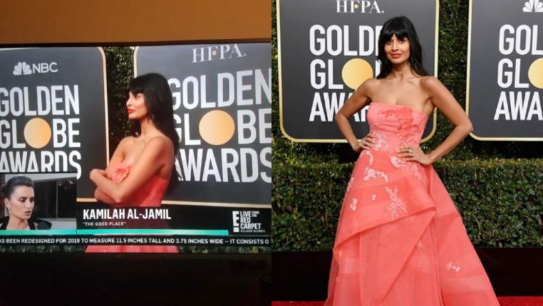 Golden Globe Awards 2019: The Good Place Actor Jameela Jamil Takes E News' Hilarious Mistake in Stride