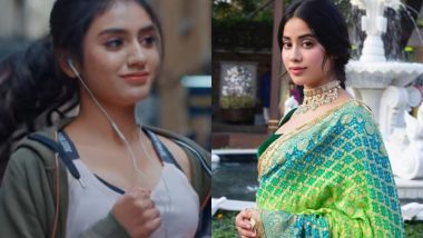 Janhvi Kapoor Walks Away When Asked about Priya Prakash Varrier's Sridevi Bungalow