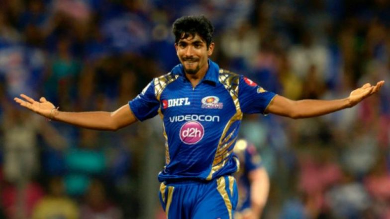 IPL 2019 Mumbai Indians Team: Jasprit Bumrah Likely to be Given Rest for the Tournament Ahead of ICC Cricket World Cup 2019?