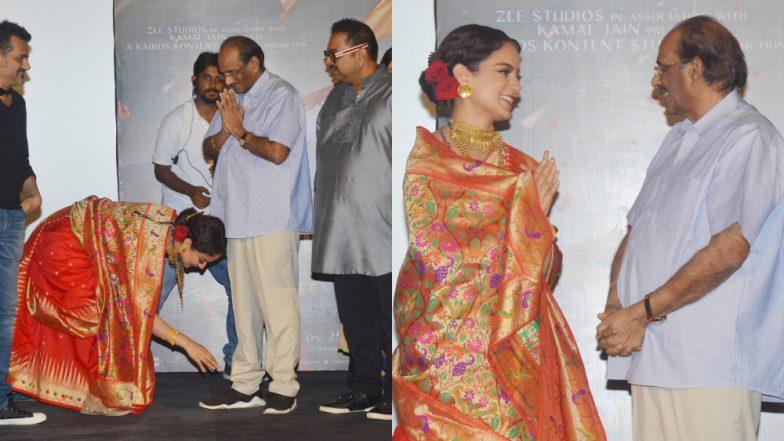 After Manikarnika: Queen of Jhansi, Kangana Ranaut Will Star in One More Movie by Baahubali Writer Vijayendra Prasad