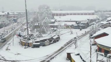 Kashmir to Receive Heavy Snowfall for 5 Days Starting January 19, MeT Department Issues Avalanche Warning