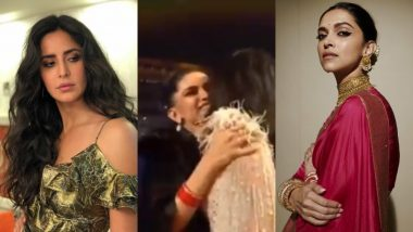 Forget Salman-Shah Rukh's Eid Hug, Deepika and Katrina Hugging It Out Is the New Hit in Town – Watch Video