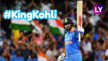 Virat Kohli Becomes First Indian Captain to Score an ODI Century Against Australia in Their Backyard