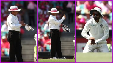 Honest KL Rahul Wins Umpire Ian Gould's Heart With His Sportsmanship Act During Day 3 of Ind vs Aus 4th Test